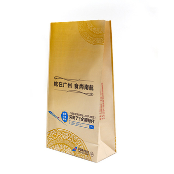 China paper bag factory customized Flexo print air sickness treat bag
