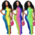 Sexy Women Sleeveless Halter Backless Dress Clubwear Summer Slim Bodycon Dress Tie Dying Streetwear Pencil Dress