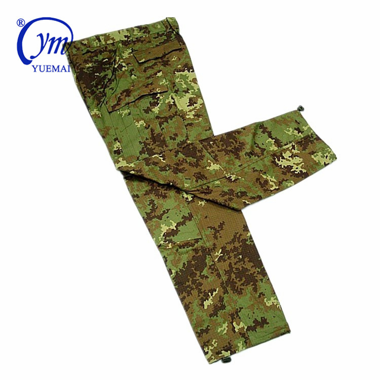 Italian Military combat Uniforms French Army Camouflage OCP Polyester cotton Land Force Italy camo uniforms