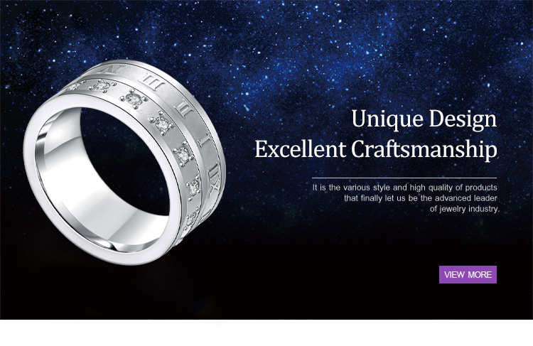 product-BEYALY-Roman Numerals Cz Large Size 3161 Stainless Steel Ring Made In China-img