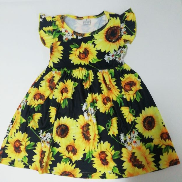 yiwu children clothes dress baby girl high quality baby clothing  dress kids Babies dresses