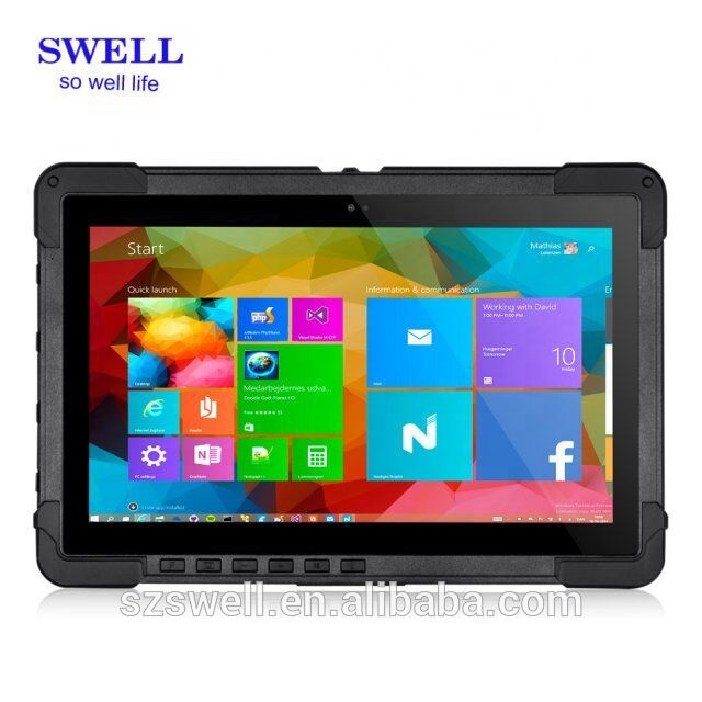11.6 inch all in one tablet pc small and light designed for toughest users in window system rugged tablet pc