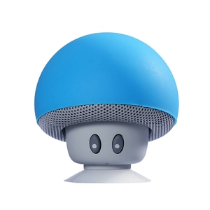 2019 Cheap Cute Portable Shower Mushrooms Sucker Waterproof Wireless Bluetooths Speaker Mobile Phone Car Mini Speaker