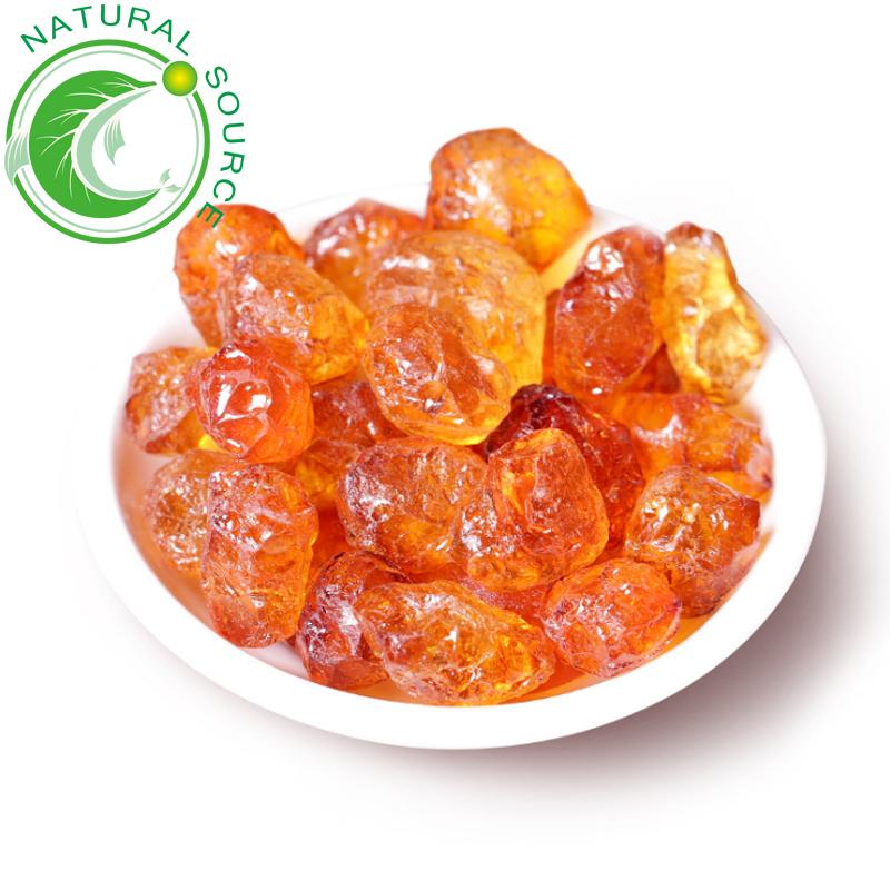 GMP Factory Supply High Quality Dried Herbal Tea Prunus Persica Natural Peach Gum Tea In Bulk - 4uTea | 4uTea.com