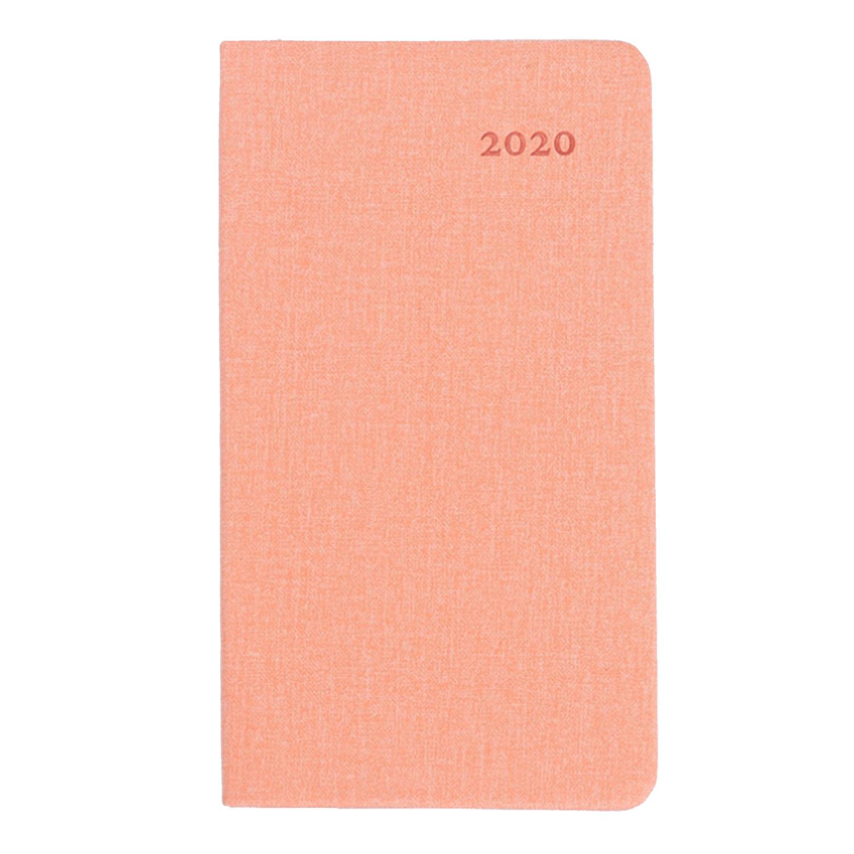 Личные записные книжки A6 2020 календарь ежемесячный планировщик ежедневный календарный план записная книжка блокнот для домашнего офиса Сту...(Китай)