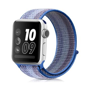 New 100% nylon sport webbing belt smart watch Strap 38mm 42mm Colorful Nylon watch band for apple watch