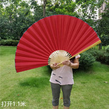 Большой подвесной вентилятор, 90 х170 см, ручной, декоративный, складной, для украшения свадьбы(China)