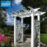 PVC Garden Decorative Pergolas