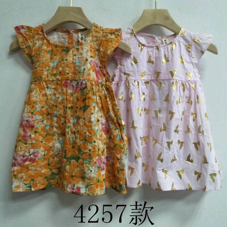 Wholesale Usa Bangladesh Free Shippings Items Kids Children Surplus Garments Baby Dress Girl
