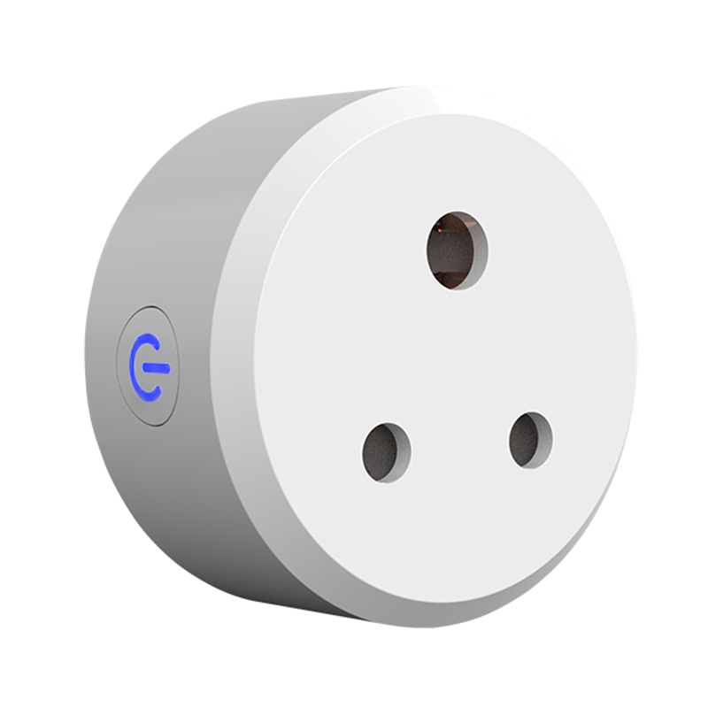 India Type D Elektrische Schakelaars Outlets 3 Ronde Pin Smart Wifi Plug Compatibel Met Amazon Alexa Echo Google Assistent