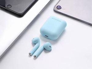 Matte Charging Box Inpods12 Headset Wireless Earphone Tws 5.0 Bluetooths ipods wireless Earbuds Inpods12