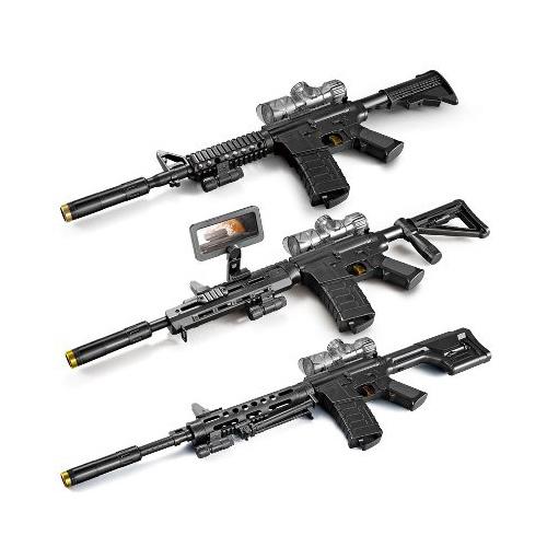 2020 New Product Assemble m4a1 Diecast Toys Gun Weapons Model Electric Gel Gun Crystal Water Bullet Gun