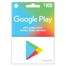 Us google play $100 google recharge gift card just account redemption code us version game google recharge