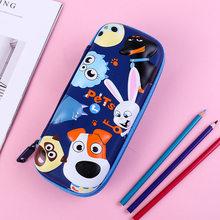 Креативный EVA чехол для карандашей, водонепроницаемый, Kawaii, мультяшный, животное, пенал, большая емкость, детский пенал для мальчиков, школьн...(Китай)