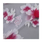 Luxury textiles embroidery flowers organza fabric 2020 organza fabric embroidery dress