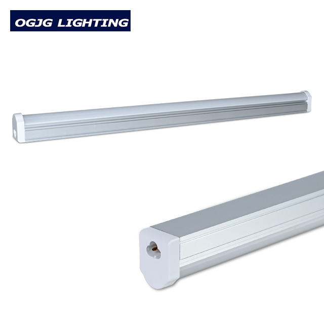 OGJG ahorro de energía pueden conectarse reemplazar T5 T8 luminaria fluorescente corredor único tubo de luz led lámpara