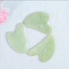 Massage Massager Guasha Natural Jade Guasha Massage Stone Heart-shaped Xiu Jade Gua Sha Board