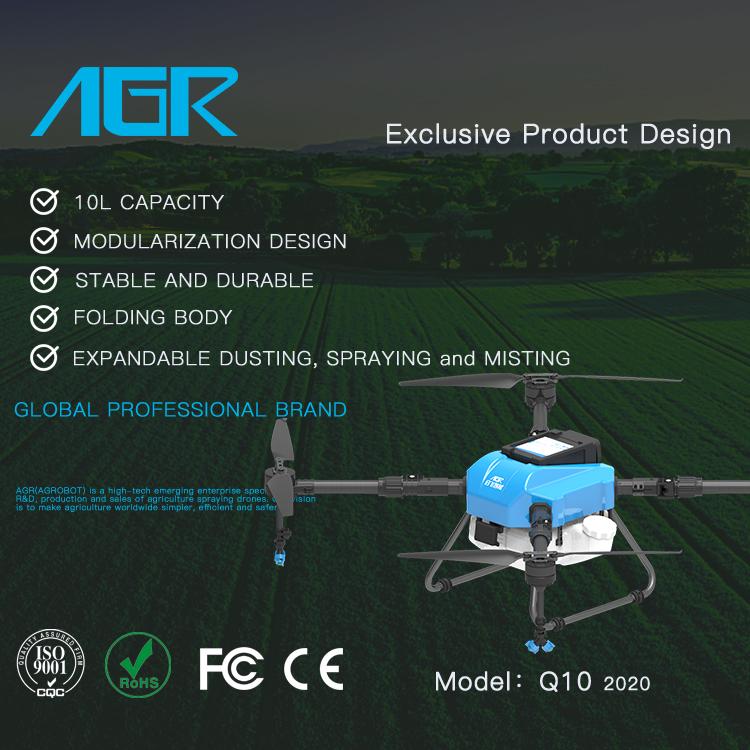AGR Terbaru 10L Muatan 10Kg Q10 Standar untuk Penyemprotan Pestisida