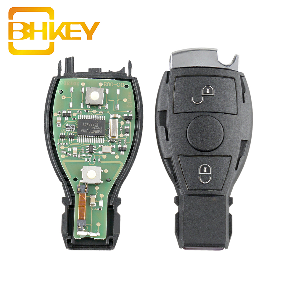 2 / 3 Buttons 433 MHZ BGA & NEC Auto Fob Remote Smart Car Key For Mercedes Benz C300 C350 CL500 CL600 CLS CLK GL ML SL