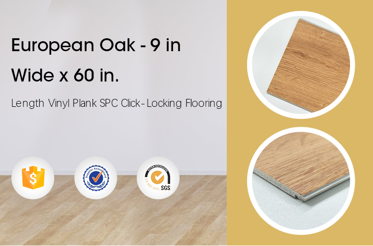 Gold lion the newest model vinyl plank flooring click lock