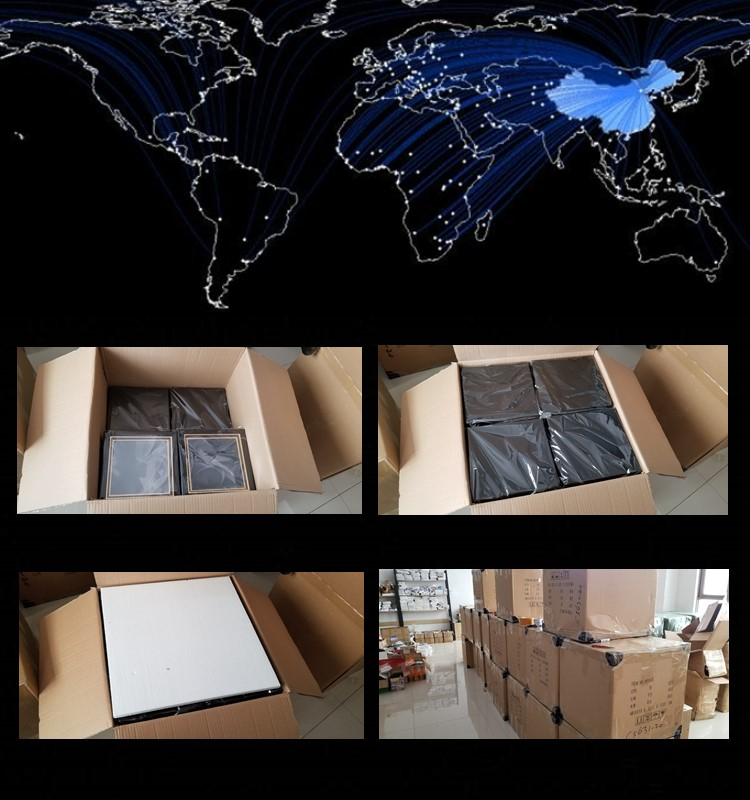Luxury  Packaging Boxes Small Glossy Paper Package Custom Corrugated Fold Compartment Thick Paper Box Logo Print