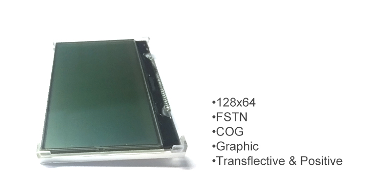 lcd graphic display cog touch pad
