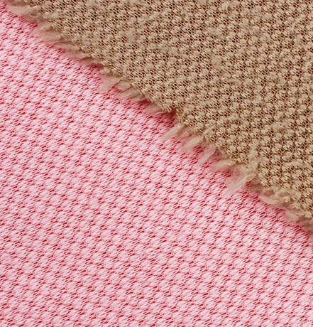 China manufactures good quality plain dyeing sherpa fleece fabric