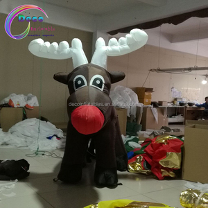 inflatable elk for Christmas festival decoration