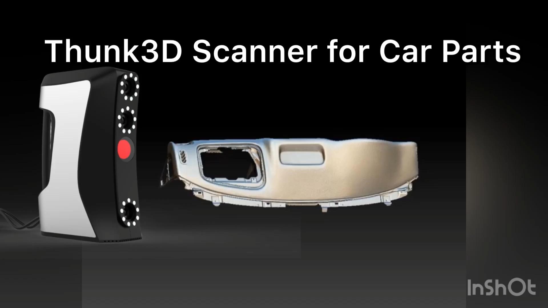 Scanner 3d portátil para engenharia reversa, impressão 3d modelagem