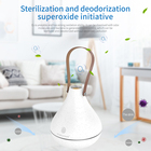2020 Shenzhen ESYS Home Portable Ozone Sterilizer Recycle Silicone Dehumidification Ozone Air Purifier dc for Wardrobe