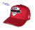 Manufacturer gym wear hats red colour 5 panel styles baseball caps