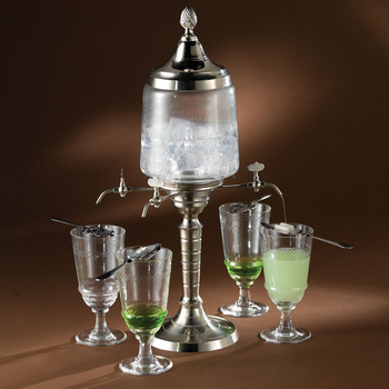 Autherntic absinthe fountain--4spout/2000ML