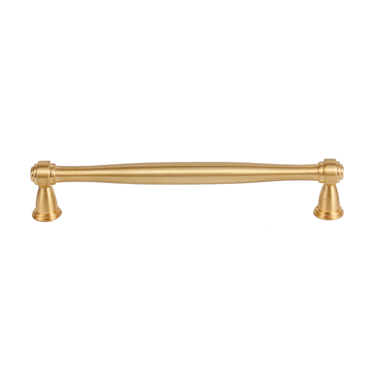 Manufacture luxury  furniture pull handle brass gold kitchen cabinet handle door handles