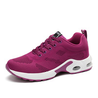 Women's Comfort Lace Up Sports Running Athletic Shoes