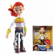 wholesale Toy Story anime figure Jessie the line talking toy cartoon toy action figure pvc Model movie characters