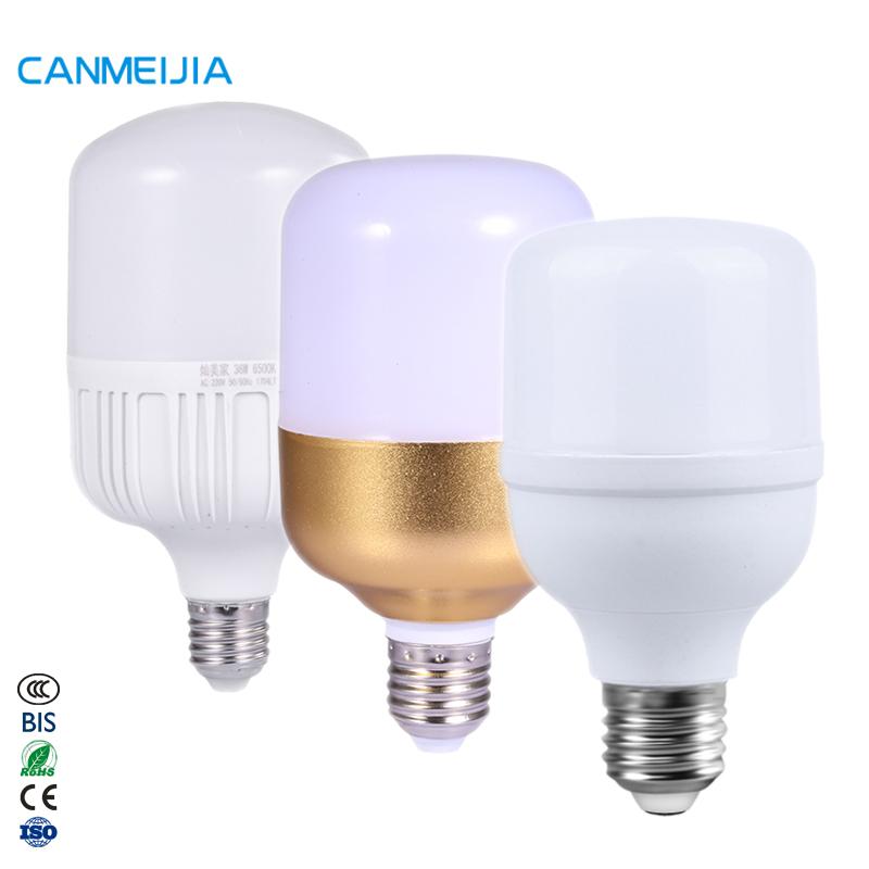 B22 E27 Holder T-Shape 5W 10W 15W 20W 30W 40W 50W Led Bulb Lamp Manufacturer Raw Material Led Bulb Lights,Bombillo Led,Focos Led