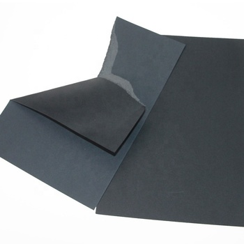 Good quality Black Cardboard Sheet Black Paper for Making Box