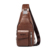 Factory supply WEXIER men pu leather casual crossbody shoulder messenger bag