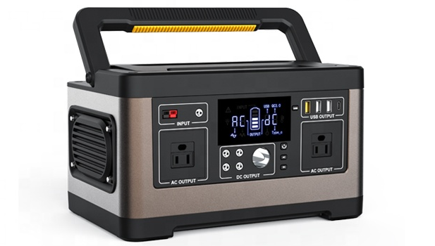 Перезаряжаемых батарей ac блок питания портативная электростанция отзывы портативный источник питания постоянного тока с 500w