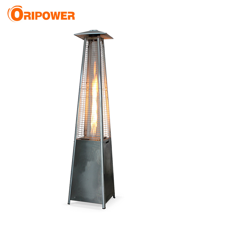 Patio Heater Real Flame Pyramid Outdoor