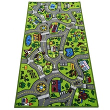 Wasserdichte Country Road City Karte Spielmatte Kinder <span class=keywords><strong>Teppiche</strong></span>