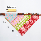 Personalized Washable Colorful Dogs Pets Adjustable Collar Bib Kerchief Scarf Bandanas