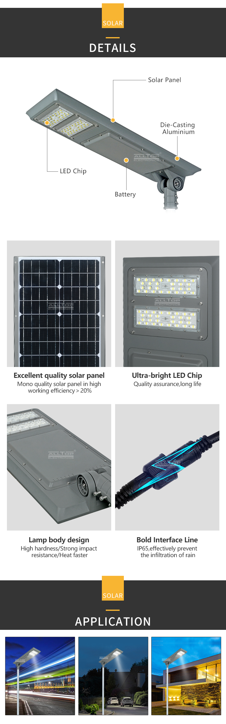 high-quality high powered solar lights best quality supplier-13