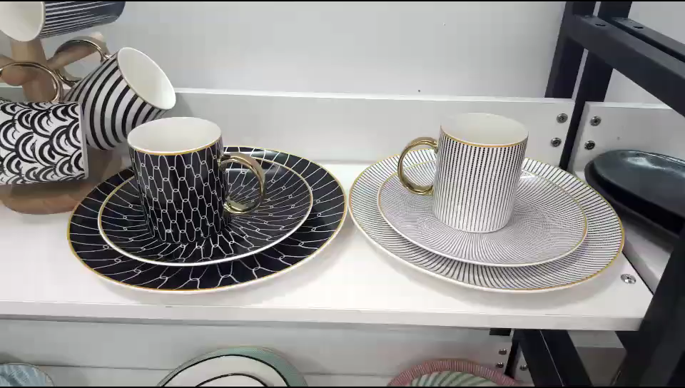 Nordic Kreative Geometrie Becher Milch Kaffee Tasse Hause Büro Tee Tasse Keramik Tasse