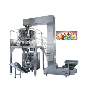 Low Price Automatic Weighing Small Snack Potato Chips Packing Vertical Packaging Machine price
