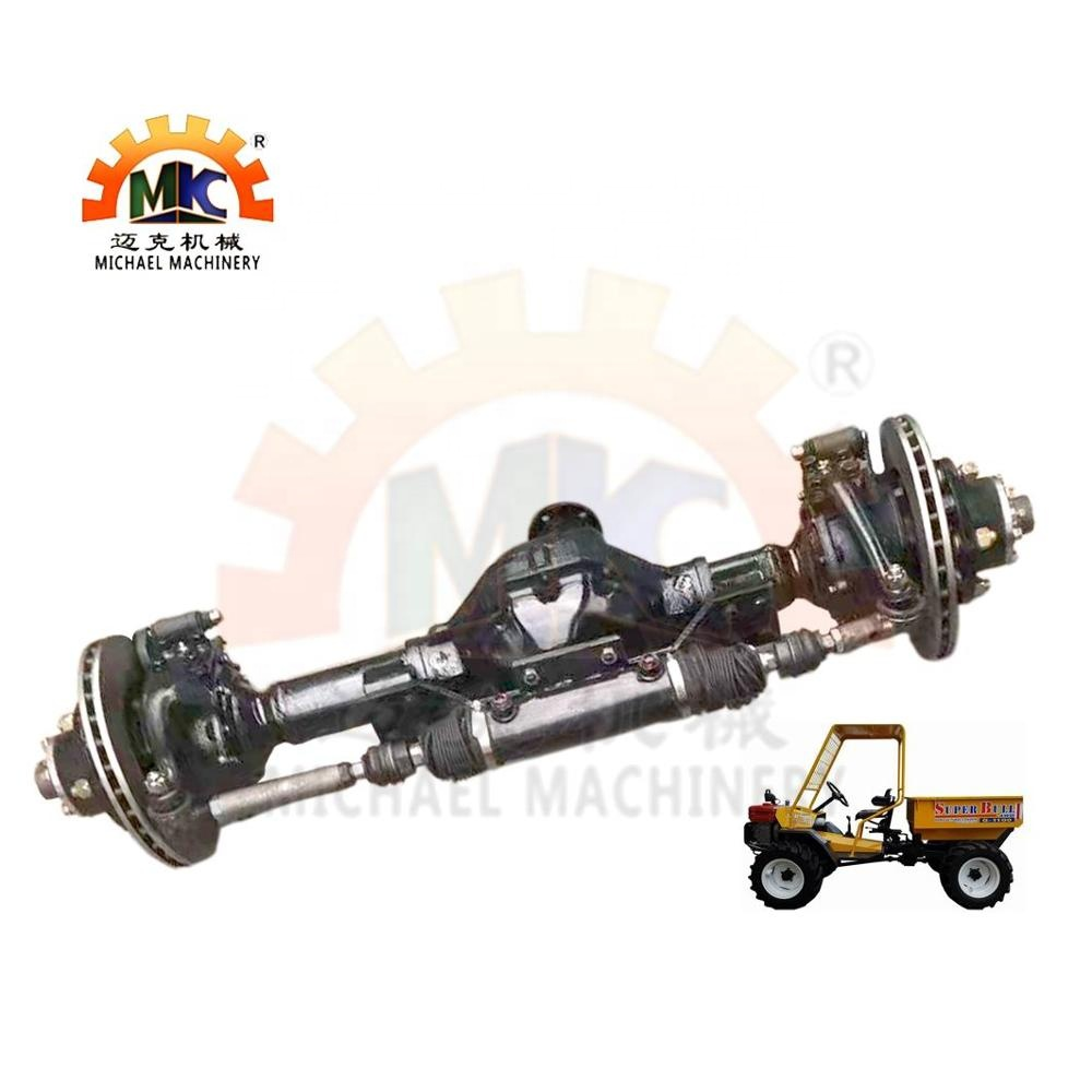Customized 4WD/4WS Front Wheel Drive Steer Axle of Tractor with Double Acting Steering Hydraulic Cylinder