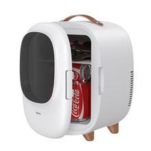 Мини-холодильник с морозильной камерой Baseus, автомобильный холодильник 8л, 12 В/220 В для автомобиля, дома, путешествий, охлаждение и нагревание,...(Китай)