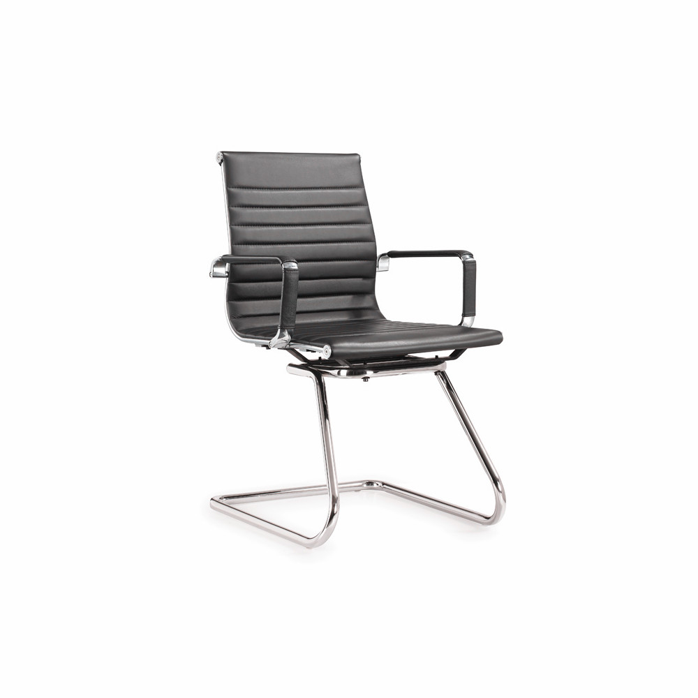 China office style blue gray chair ergonomic visitor chair