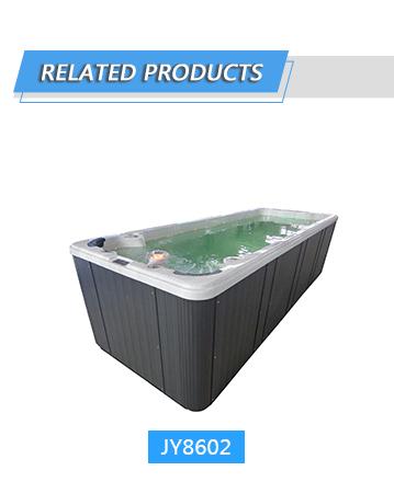 Уникальный дизайн 4 сиденья Бальбоа системы открытый задний двор плавание спа бассейн