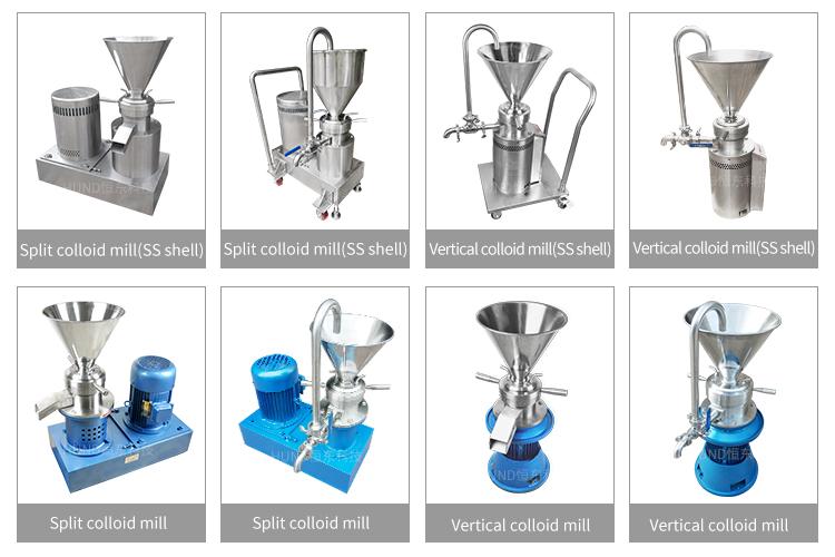 stainless steel industrial groundnut garlic paste making machine/fruit and vegetable grinding machine